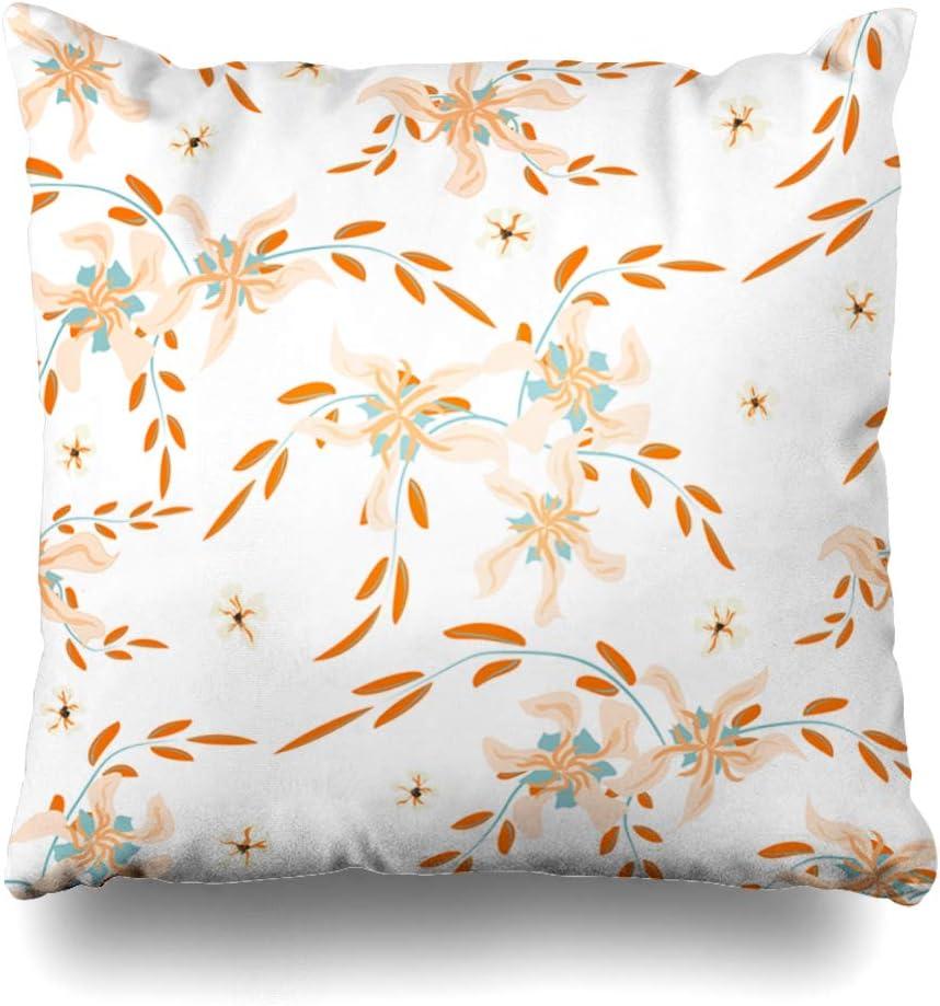 Ahawoso Throw Pillow Cover Blossom