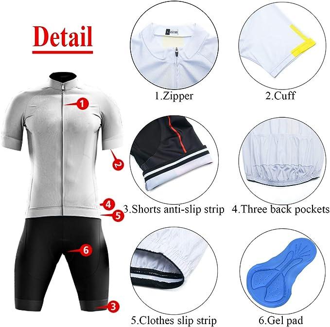 JY435 vélo MAILLOT cyclisme manche courte vêtements