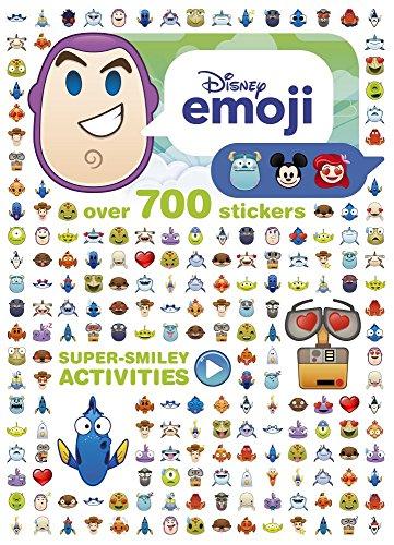 Disney Pixar Emoji Super-Smiley Activities: Over 700 Stickers