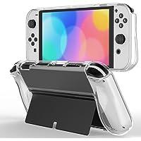 JETech Funda Protectora Compatible con Nintendo Switch (Modelo OLED) de 7 Pulgadas Liberación 2021, Cubierta de Agarre…