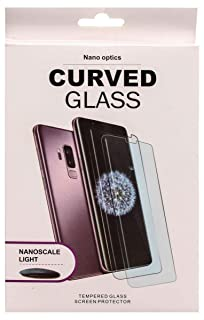 9fb315a77e4 Nano Optics Curved Full Glass Screen Protector For Samsung Galaxy S9 Plus,  Clear
