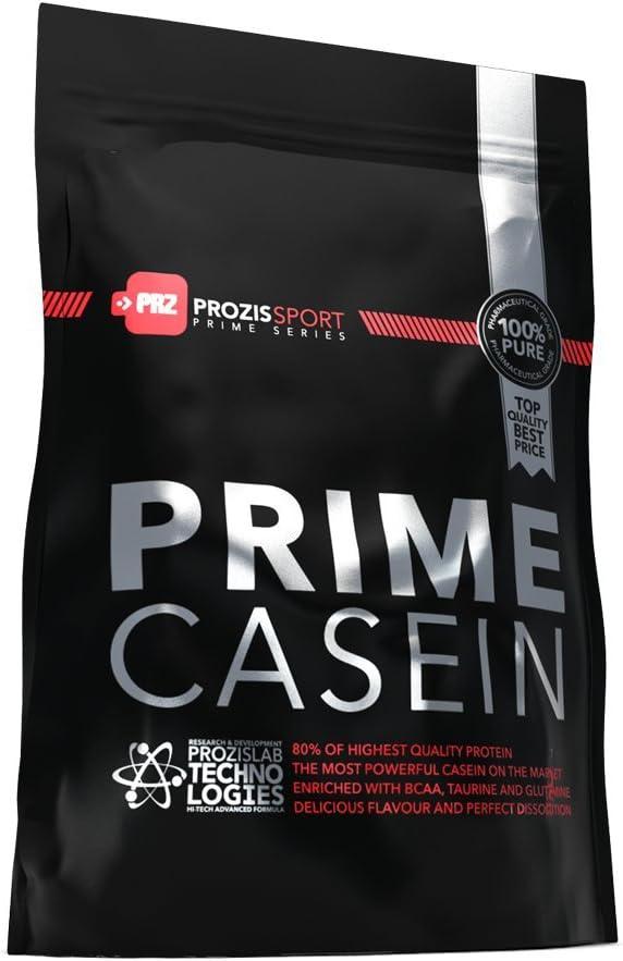 Prozis Prime Fusion Night Casein 1250g - Complemento Proteico para Estimular el Crecimiento Muscular - Apto para Vegetarianos - Mejor Sabor a Galletas ...