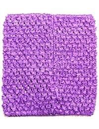 """Dress Up Dreams Boutique 6"""" Crochet Tutu Top Purple One Size [Apparel]"""