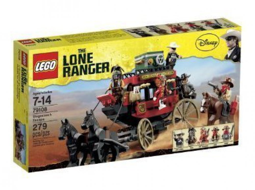 c141b8e0bef Amazon.com: Game / Play LEGO The Lone Ranger Stagecoach Escape (79108),  red, safes, indiana, jones, sets, search, legos Toy / Child / Kid: Toys &  Games