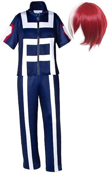 Amazon.com: TSUJIHANA Katsuki Bakugo Academy traje de ...
