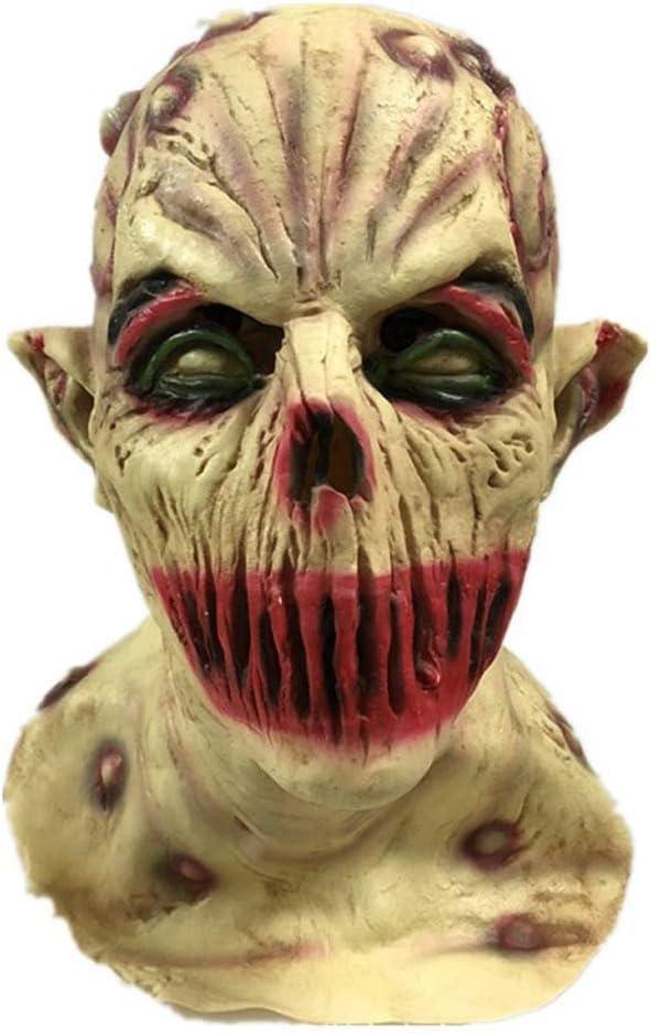 MáScara De Zombie De Halloween para El Chupasangre, Fiesta De Baile En La Casa De Terror De La Casa Encantada por Los Apoyos Dominó