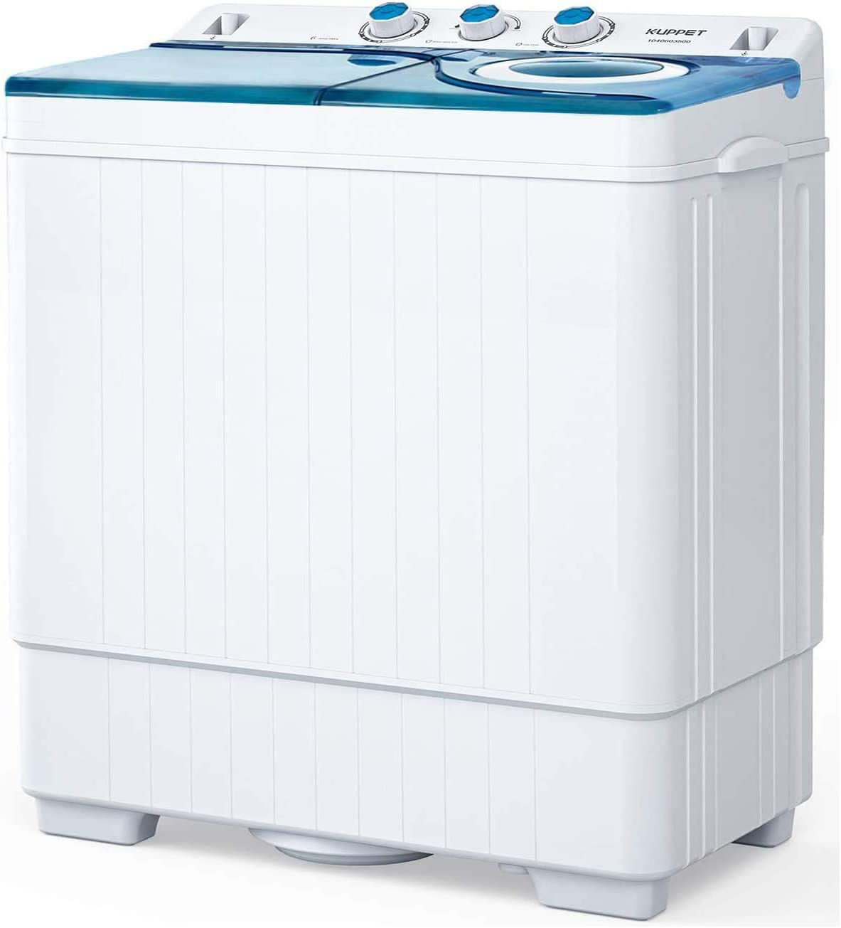 caravanas azul alimentada por USB Lavadora mini turbo port/átil con tina plegable compacta ultras/ónica de turbina de viaje lavadora para camping dormitorios apartamentos ligera