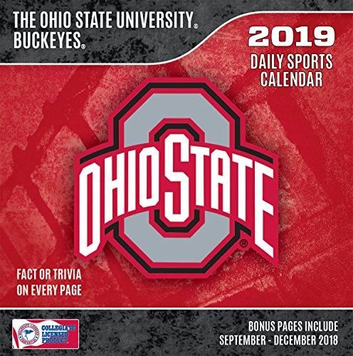 (Turner 1 Sport Ohio State Buckeyes 2019 Box Calendar Desk Calendar (19998051391))