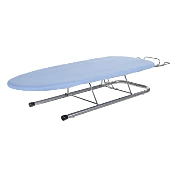 Lovely Minky Table Top Ironing Board, 81x32cm, Blue