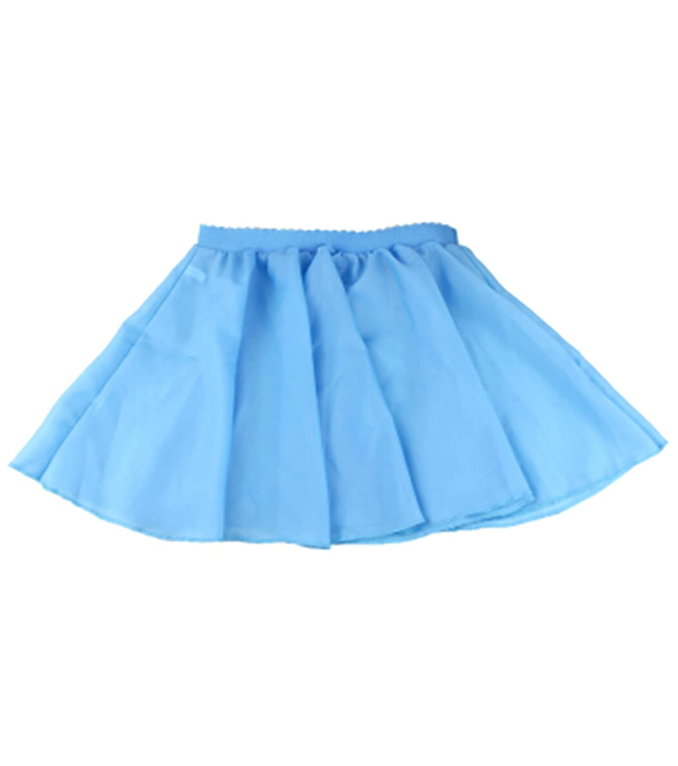 Astage Girl`s Ballet Dance Chiffon Skirts Fairy Tulle Adjustable Waistband 2pcs Astage C-BL-SJYBSQ
