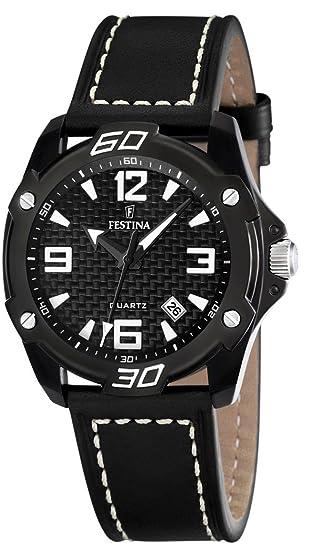 Festina F16491/2 - Reloj de cuarzo para hombres, color negro: Festina: Amazon.es: Relojes