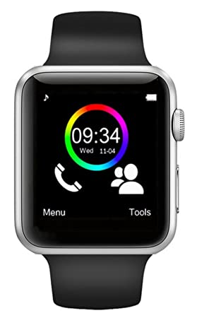 Montre Connectée Smart Watch pour Smartphone Android, Apple iOS et Windows Bluetooth 4.0 Montre Intelligente