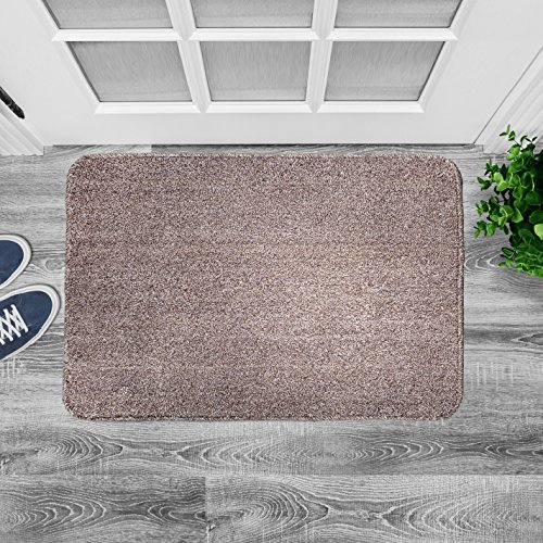 "My Dog Ate Carpet Fibers: Agréable Large Indoor Doormat 36"" X 24"" Super Absorbent"