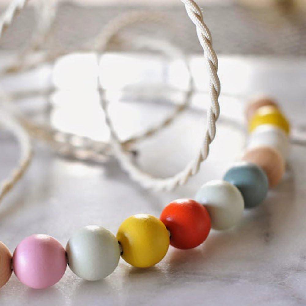 SOSMAR 1000 St/ück x 6mm Natur Holzperlen Unbehandelt Holzkugeln Rund Holz Perlen Mini Zwischenperlen mit Loch 2mm f/ür basteln auff/ädeln DIY Schmuck Armband Halskette etc