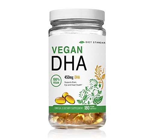 Diet Standards Vegan DHA Omega 3 Supplement at Amazon