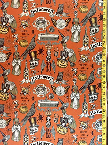 Trickery Alexander Henry Fabric - by The Yard - Halloween (Yard) -
