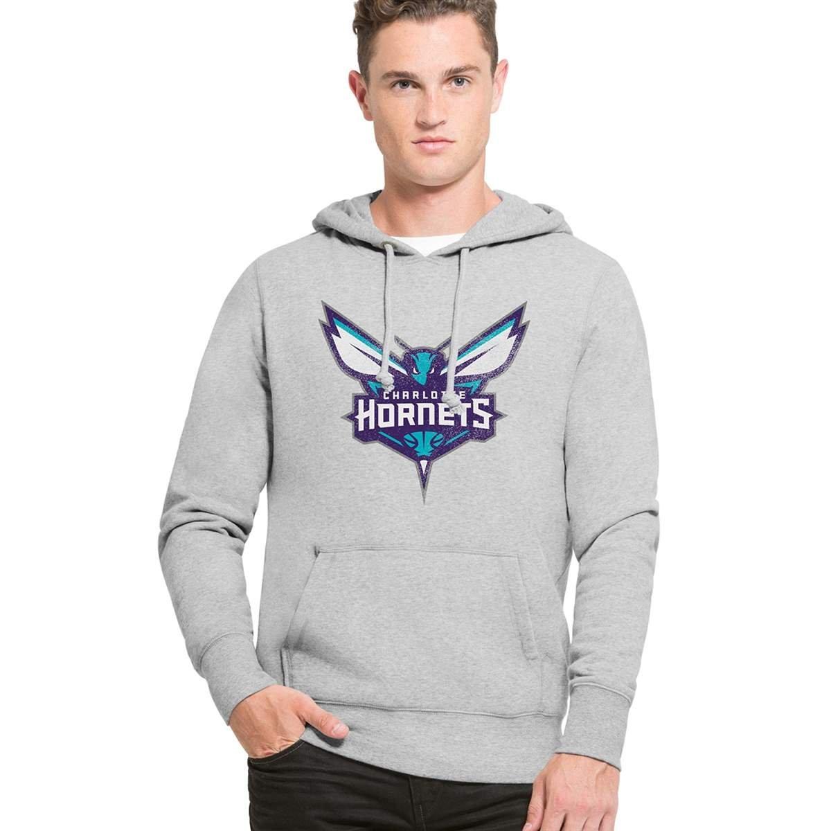 '47 Brand Charlotte Hornets Knockaround Hoodie NBA Sweatshirt