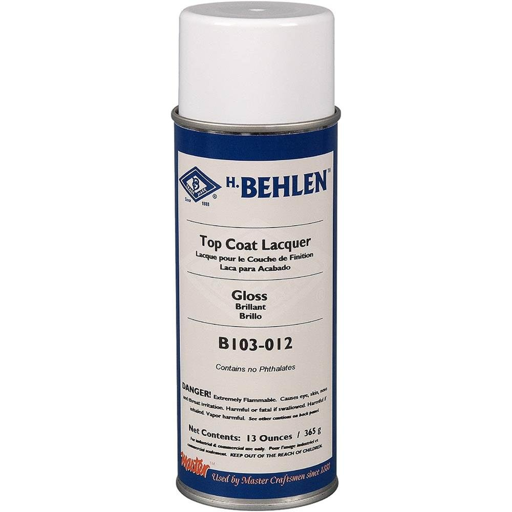 Behlen H3936 Top Coat Lacquer - Gloss RPM