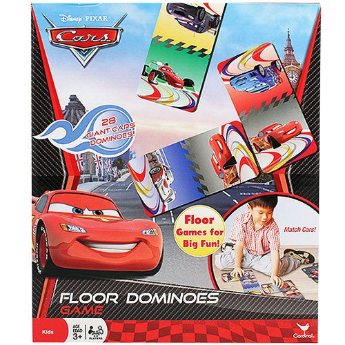 Disney Pixar Cars Floor Dominoes Game