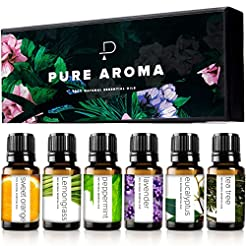 Essential oils by PURE AROMA 100% Pure T...