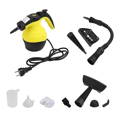 Funnyrunstore Portable 220-240V Hand Held Steam Cleaner Dispositivo de Limpieza de Alta Temperatura Multifuncional