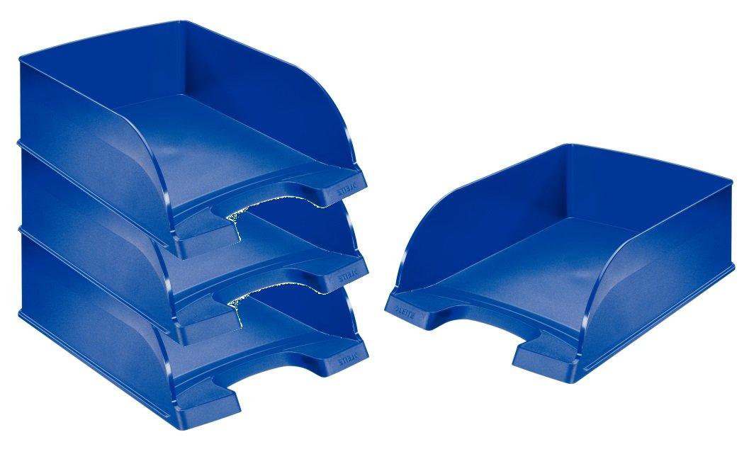 Trasparente Polistirene Fum/é Formato A4 Leitz 52260092 Standard PLUS Vaschetta Portacorrispondenza 1 pz.