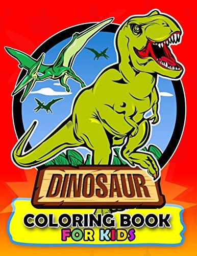 Dinosaur Coloring Book For Kids Coloring Book Easy Fun Beautiful Coloring Pages Tyrannosaurus Rex Velociraptor Triceratops And Friend 3 5 By Kodomo Publishing Amazon Ae