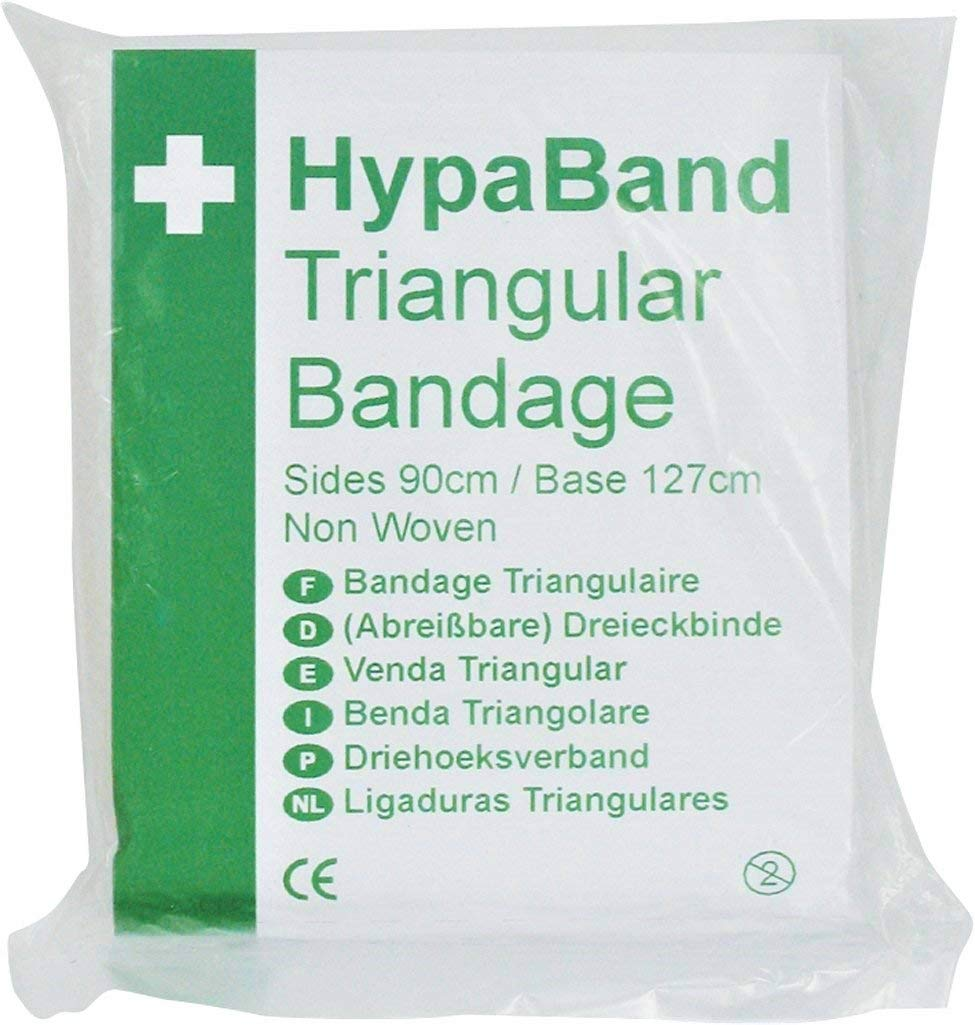 HypaBand Triangular Bandage - Non Woven (Pack of 6) Safety First Aid Group D3936PK6