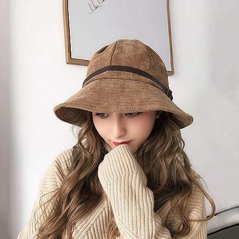 QWQW Sombrero De Punto para Mujer Sombrero De Mujer Otoño Invierno ...