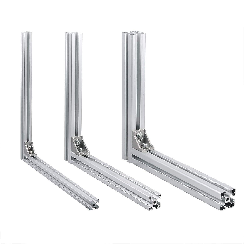 50 unidades Escuadras de /ángulo soportes en /ángulo de 30/x 30/x 16/mm