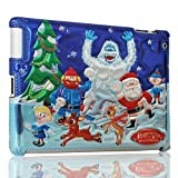 iPad 2 iPad 3 Cover - Rudolph The Red Nosed Reindeer - Rudolph and Friends