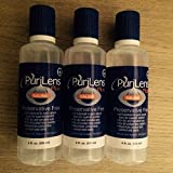 Purilens Plus Saline - Unisol 4 Replacement -3 bottles x 4 oz