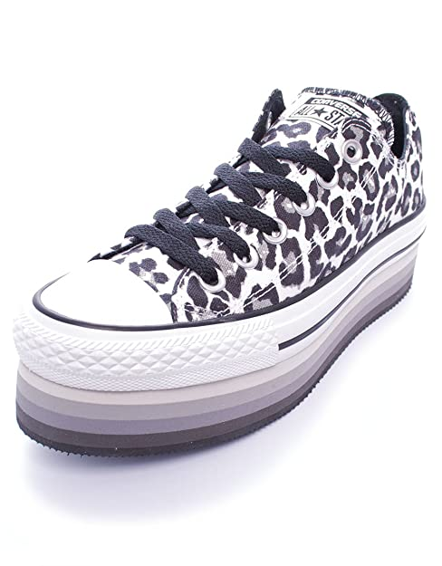 converse platform leopardate