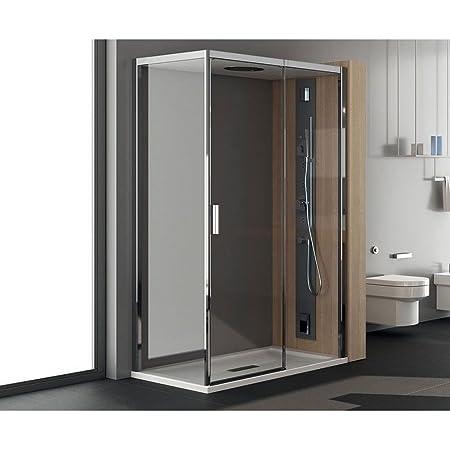 Cabina Doccia Teuco 70x90.Teuco Box Doccia Porta Battente 120x80cm Art Nc8b6 Chapeau Amazon