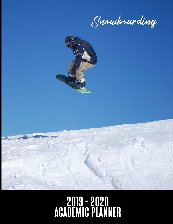 Unm Academic Calendar Fall 2020.Snowboarding 2019 2020 Academic Planner An 18 Month