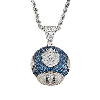 Moca Jewelry - Colgante Grande para Hombre y Mujer, diseño ...