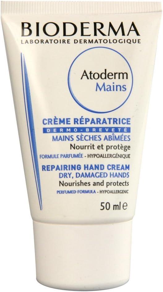 Bioderma Atoderm Mains Repair Cream Dry Damaged Hands 50ml