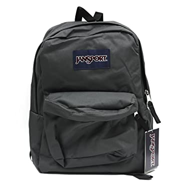 Amazon.com | JANSPORT SUPERBREAK BACKPACK SCHOOL BAG - Forge Grey ...