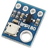 圧力センサー,SODIAL(R) BMP180 BMP085圧力気圧センサモジュールデジタルブルー
