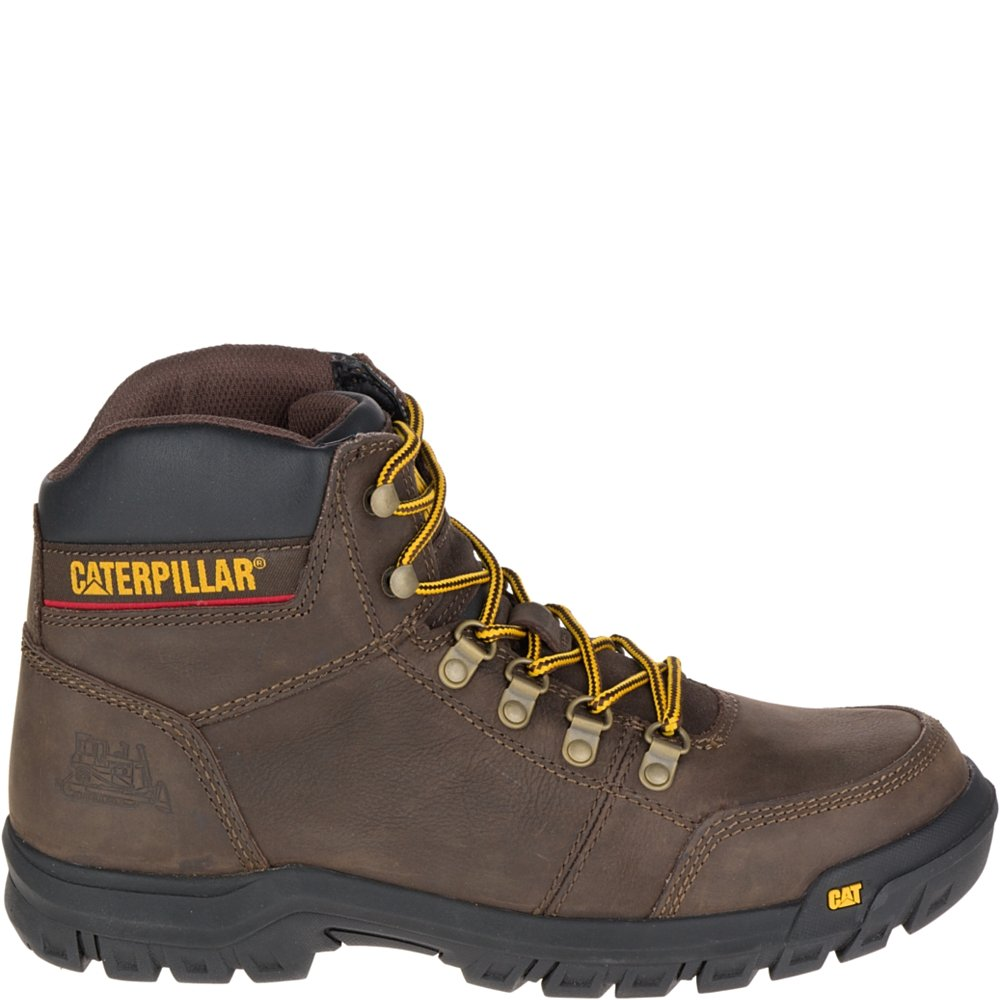 CAT FOOTWEAR P74087 7.5W Men's Outline Leather Boot