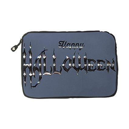 ONSSSNO Halloween,Fashion Cute Advanced Travel Electronics Accessories Organiser Bag Blue