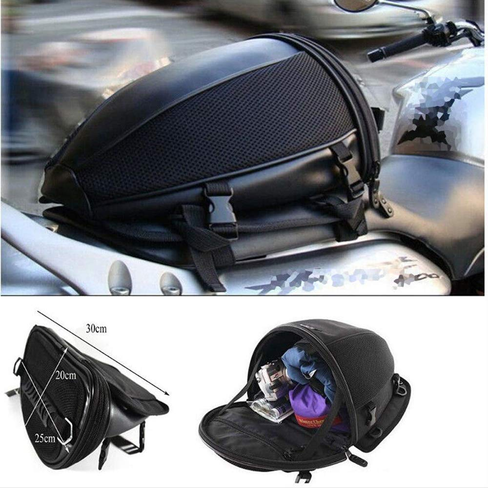 WOSAWE Motorrad-R/ücksitztasche Helmkoffer Wasserdicht Gep/äcktr/ägertasche Tank Tasche Paket Satteltasche