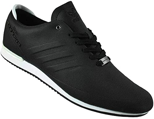 new concept 8a5cb 410a8 Adidas Porsche Type 64 Sport Trainers Originals Trefoil Men s Shoes Sneaker  Black White, Sizes
