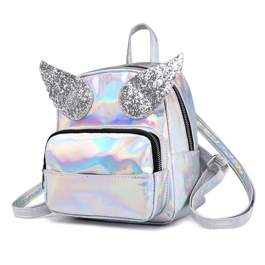 c99e8b465f33 Sunyastor Fashion Girl Backpack Mini Rucksack Travel Bookbag Leather Bag  Ladies Purse and Handbags Shoulder Bag