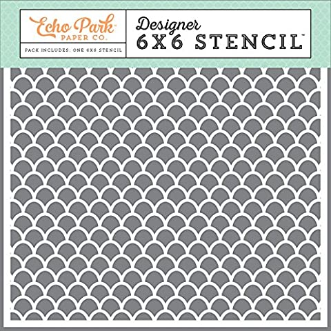 Echo Park Paper Company DR126034 Summer Sun Stencil (Summer Echoes)
