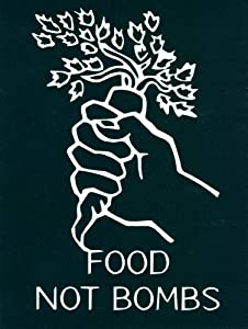 Peace Resource Project Food Not Bombs - Bumper Sticker/Decal (4.25