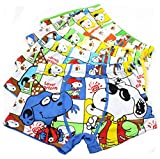 2-8 Years Old Boys Snoopy Boxer Briefs Cartoon Character Underwear For Toddlers 5 Pack