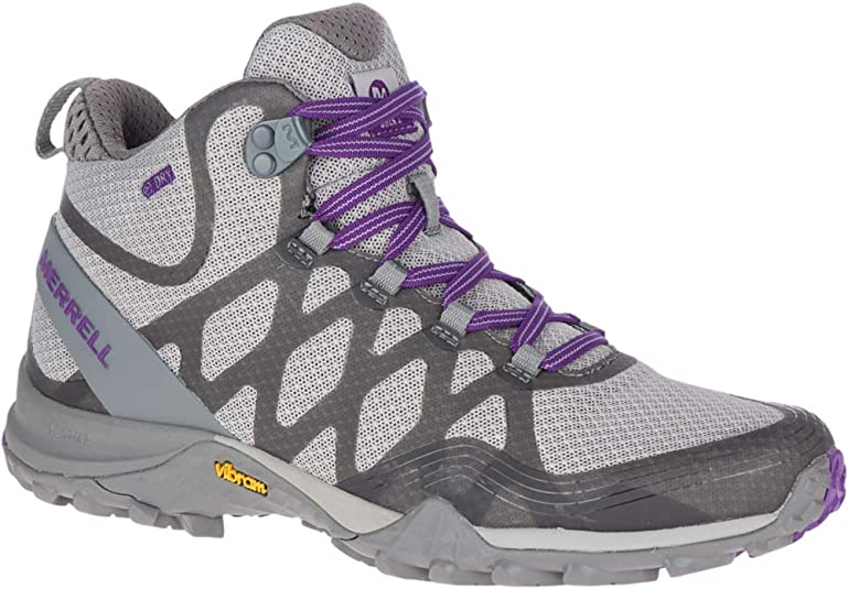 7. Merrell Women's Siren 3 Mid Waterproof Hiking Shoe