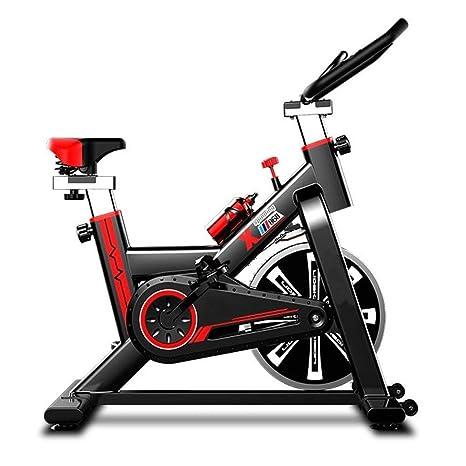 Zgsjbmh Bicicleta estática/Indoor Cycling Entrenador de Bicicletas ...