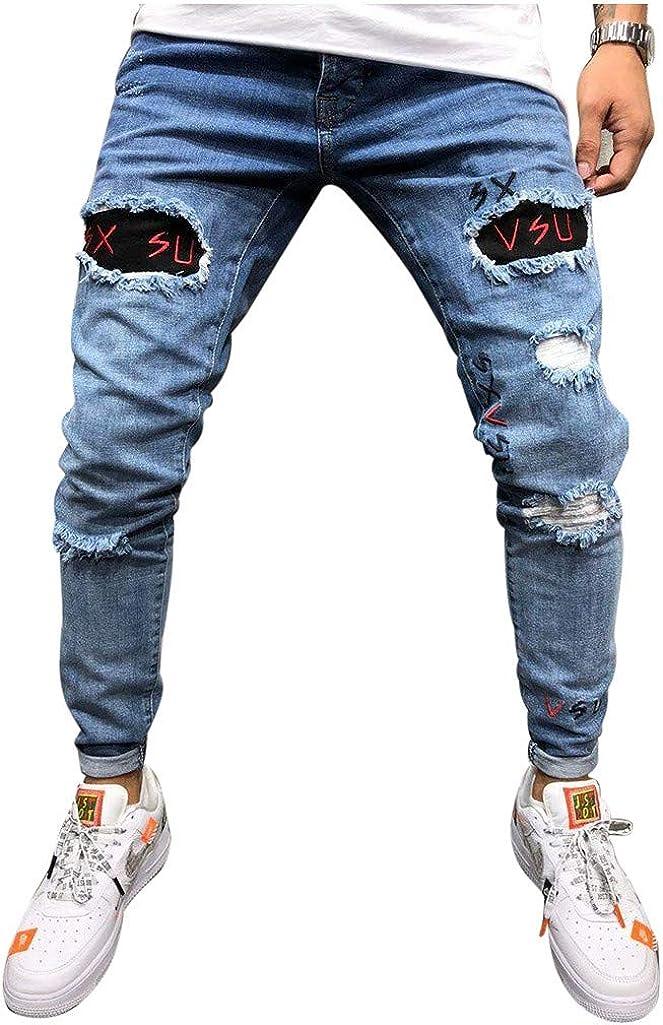 Pantalones Vaqueros para Hombre, Casuales Moda ...